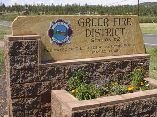 GFD Station 2 sign